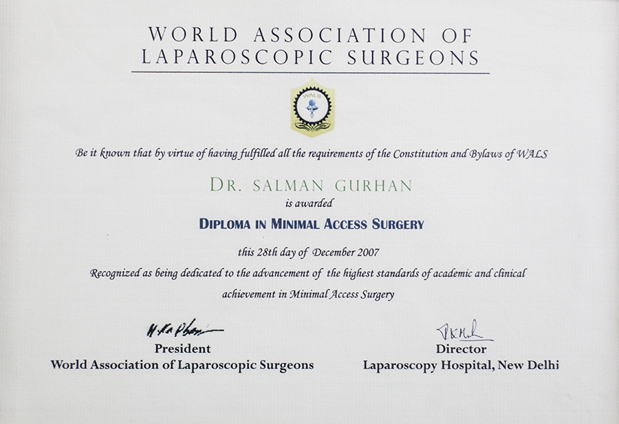Laparoskopi Diploması